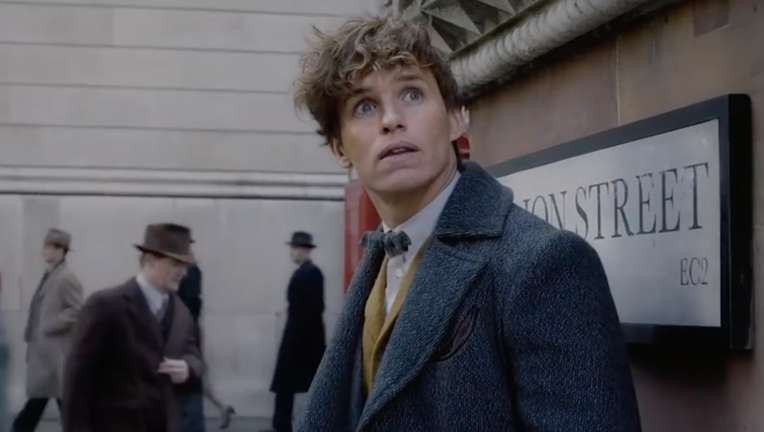 Newt Scamander in Fantastic Beasts