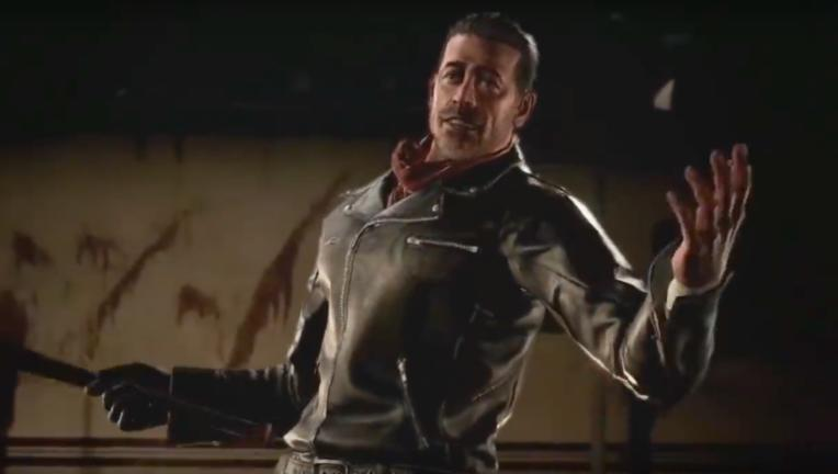 Negan Tekken 7 The Walking Dead