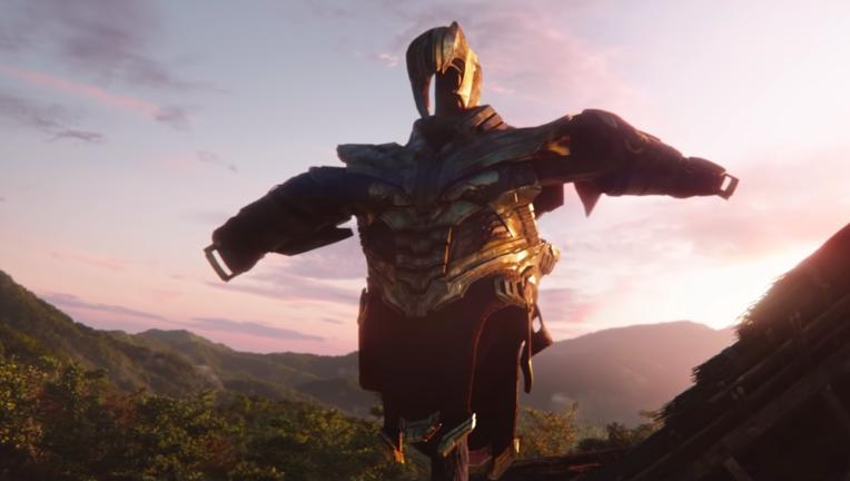 Thanos armor Avengers: Endgame