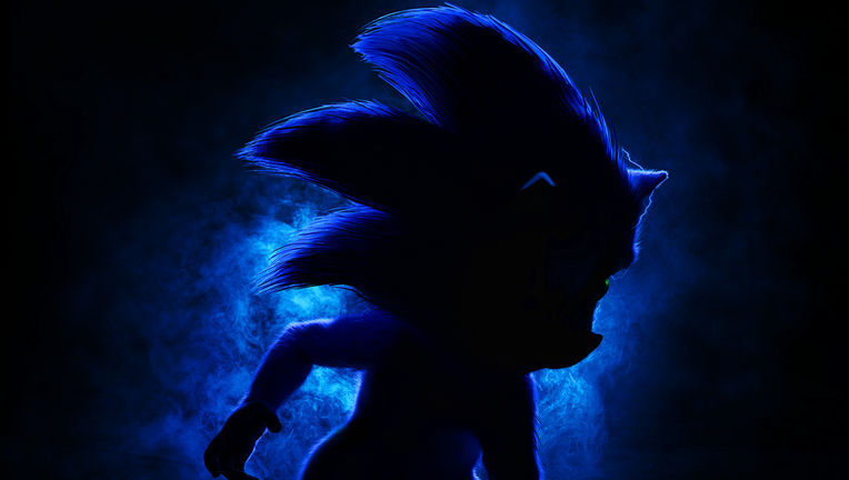 Sonic the Hedgehog live-action movie poster