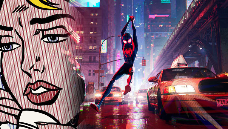 Spider-Verse Ben-Day