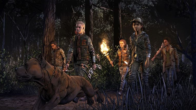 The Walking Dead Game via Telltale Official 2018