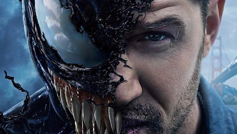 Venom Poster via official Instagram 2018