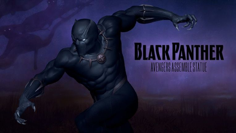 sideshow avengers assemble black panther