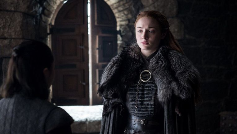 Sansa Stark Sophie Turner Game of Thrones Season 7 HBO