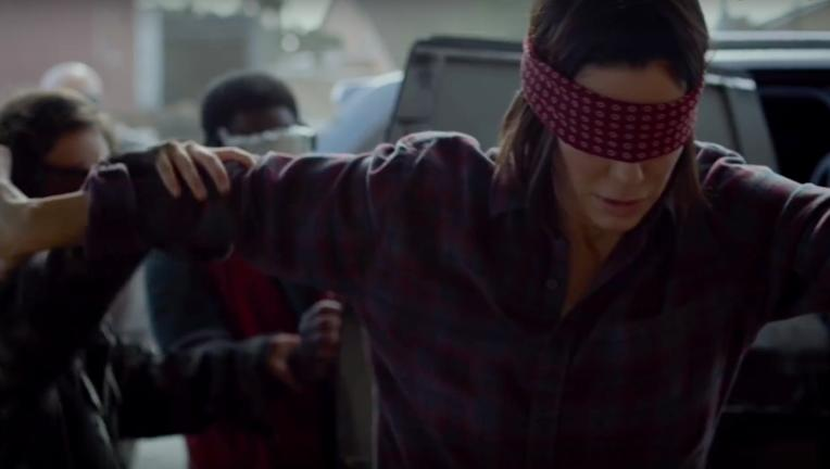 Bird Box S Sandra Bullock Is Flying Blind In This Terrifying 5