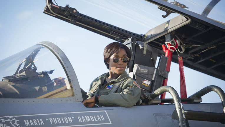 Captain Marvel Lashana Lynch Maria Rambeau