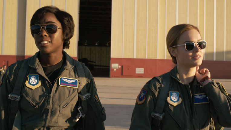 Captain Marvel Lashana Lynch