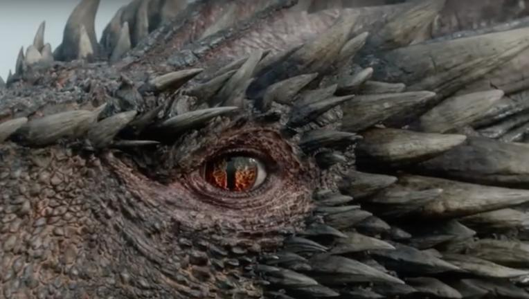 Drogon from Game of Thrones