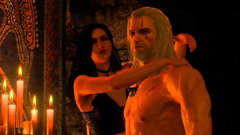 The Witcher - Geralt and Yennefer