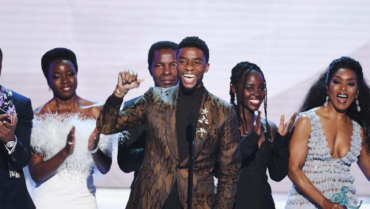 Black Panther cast Screen Actors Guild Awards