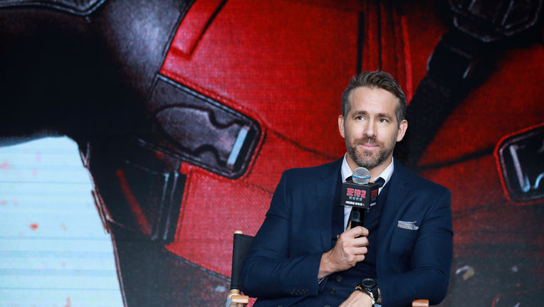 Ryan Reynolds Deadpool Beijing China