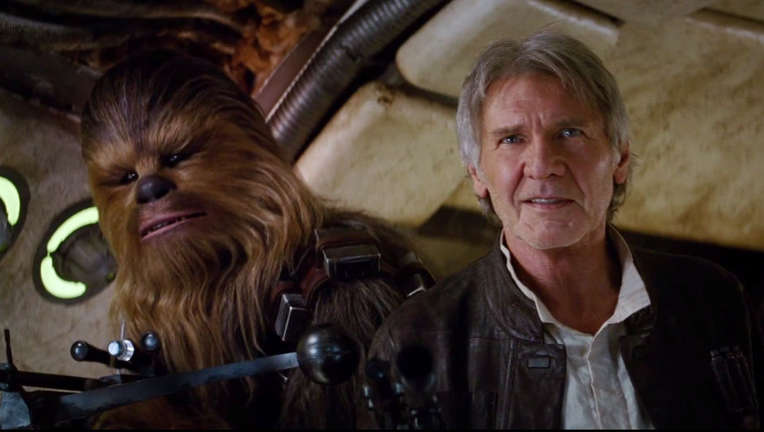 Han Solo Star Wars The Force Awakens