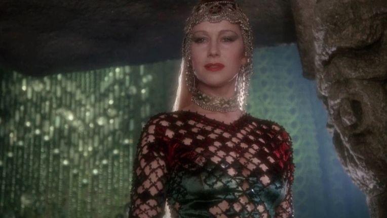 Helen Mirren in Excalibur 1
