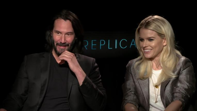 Keanu Reeves and Alice Eve, Replicas