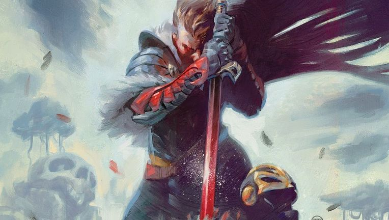 Black Knight #1 (Cover art by Julian Totino Todesco)