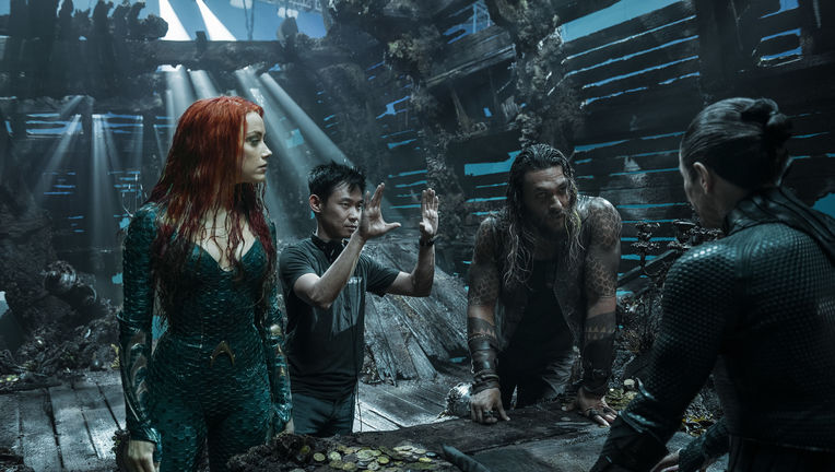 Aquaman James Wan Amber Heard Jason Momoa Willem Dafoe