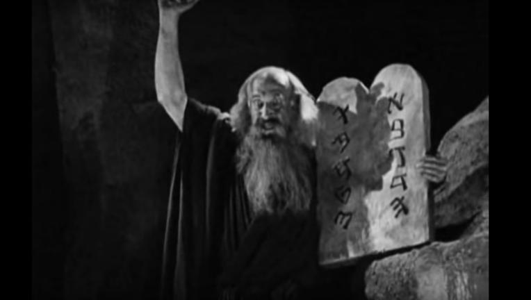 The Ten Commandments silent film