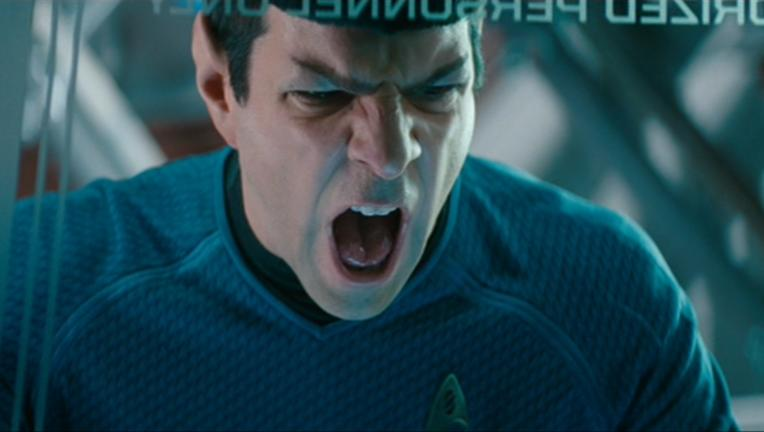 Spock Zachary Quinto Star Trek: Into Darkness