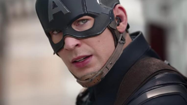 Chris Evans Captain America Civil War