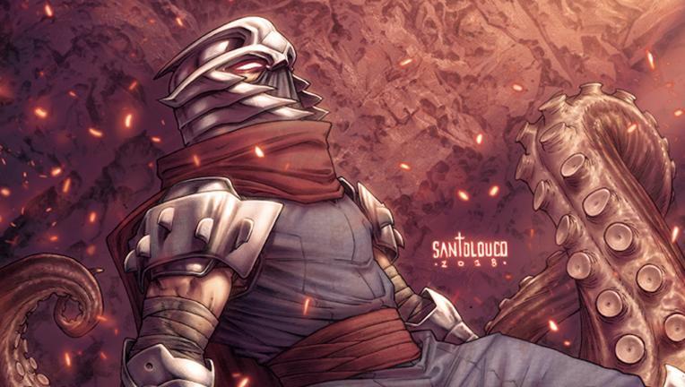 Shredder In Hell Cover A Hero