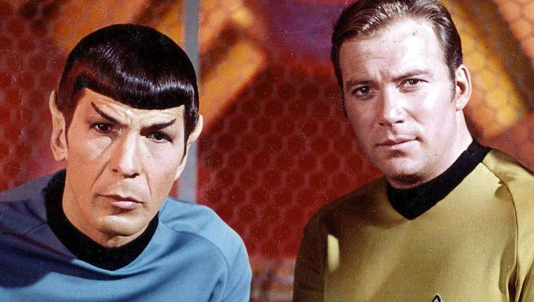 Star Trek Spock and Kirk via official website 2019