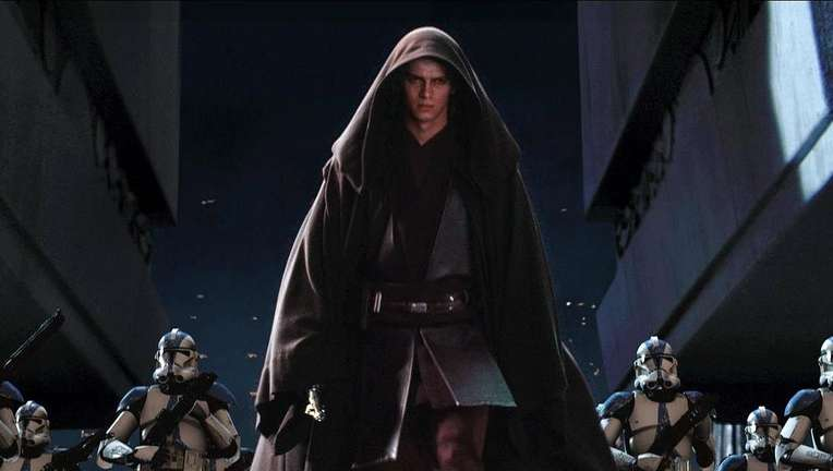 Star Wars Revenge of the Sith Hayden Christensen