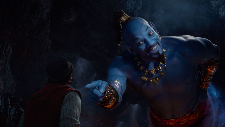 Aladdin Will Smith as the Genie Disney