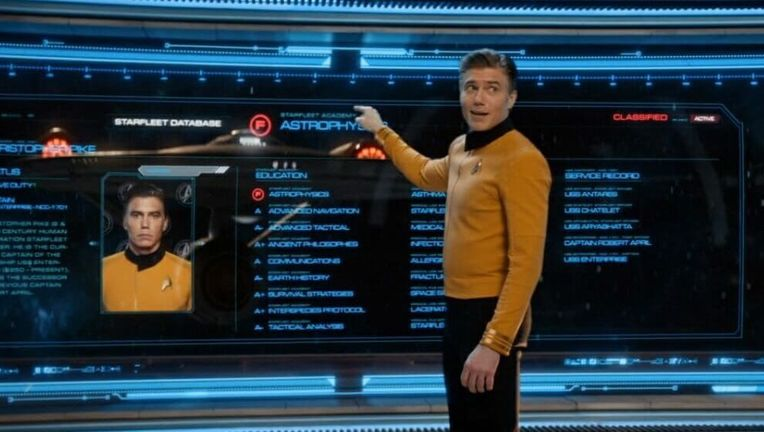 captain pike star trek disco