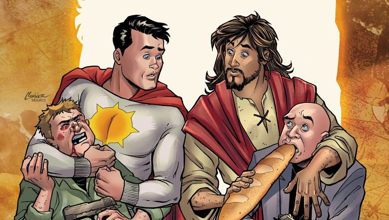 Second Coming Jesus Christ DC Comics