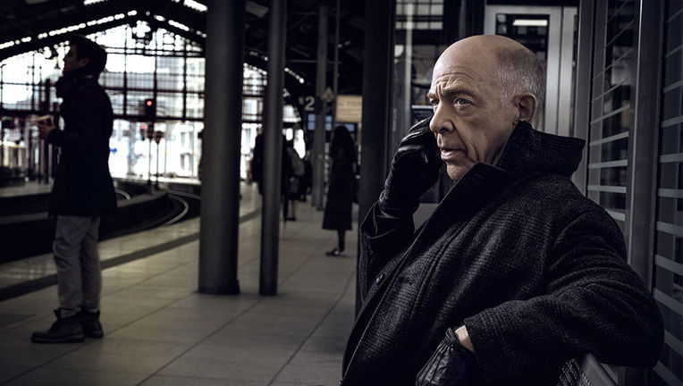 Counterpart JK Simmons via Starz website 2019