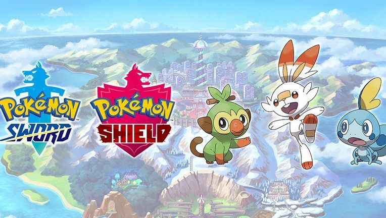 Pokemon Sword and Shield announcement
