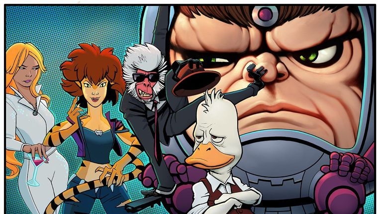 Hulu Marvel animated shows