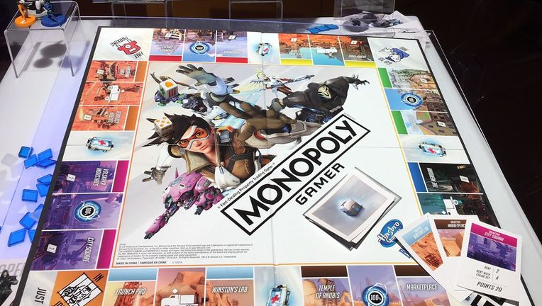 overwatch monopoly toy fair