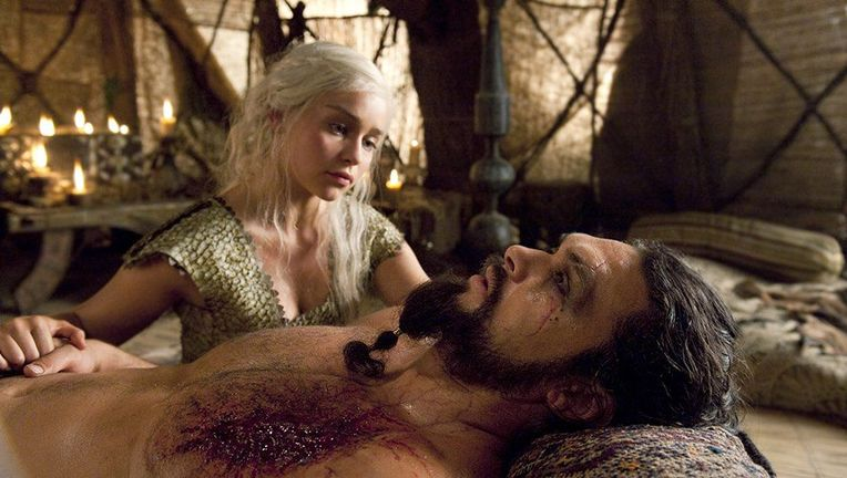 Game of Thrones Jason Momoa Emilia Clarke