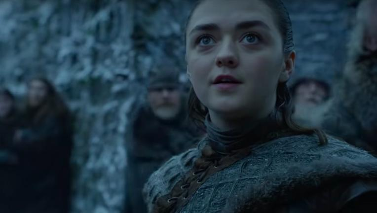 Arya Stark Maisie Williams Game of Thrones Season 8