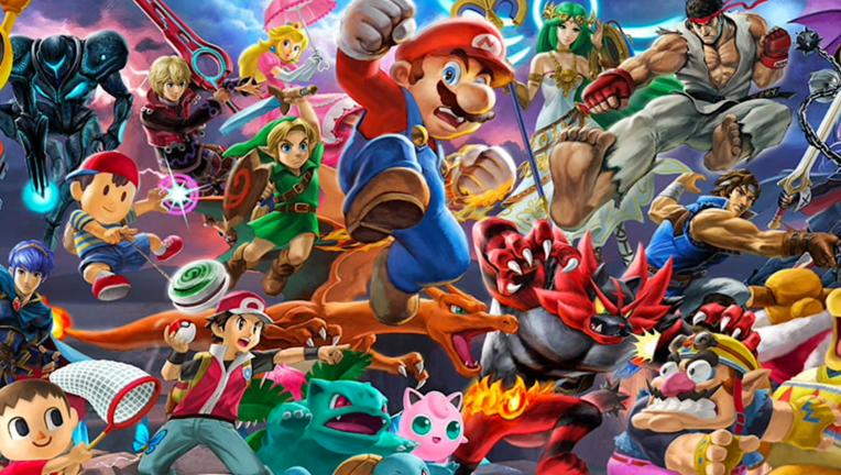 Super Smash Bros Ultimate via official website 2019
