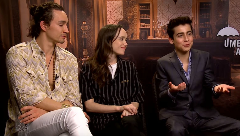 The Umbrella Academy cast reacts to episodes 1 and 2