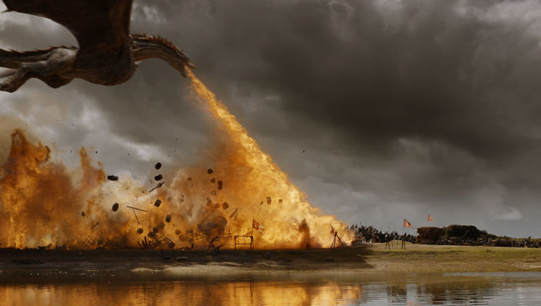 Game of Thrones loot train battle