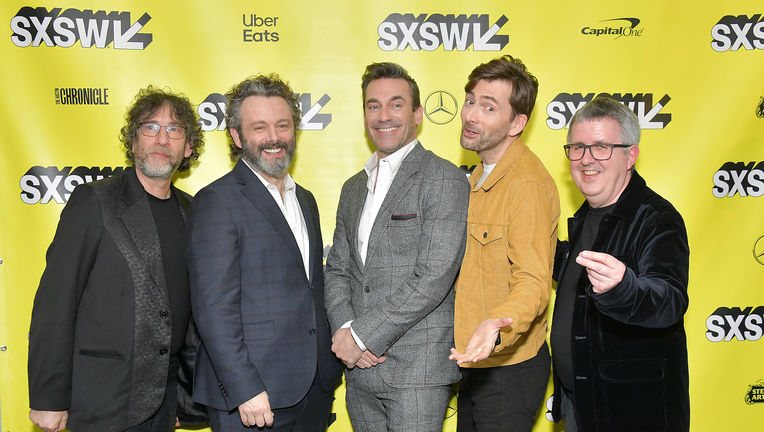 Good Omens cast SXSW