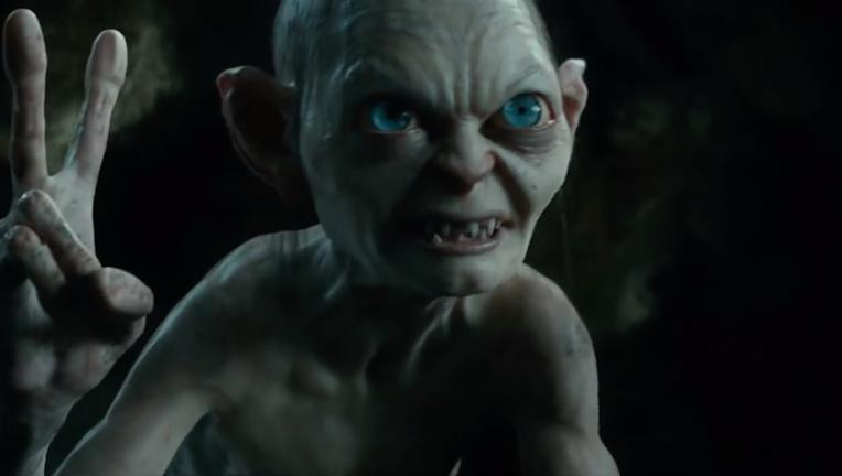 Gollum in The Hobbit: an Unexpected Journey
