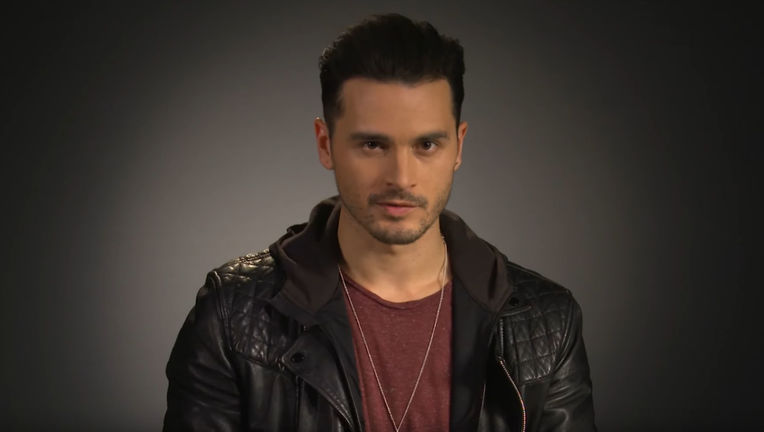 Michael Malarkey Rolls for Questions