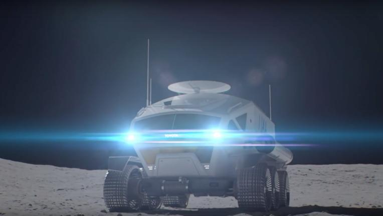 Toyota/JAXA moon rover