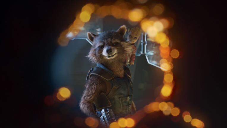 Guardians of the Galaxy Vol 2 Rocket Raccoon Baby Groot