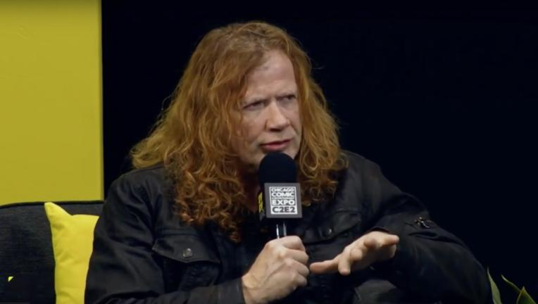 Megadeth's Dave Mustaine at C2E2