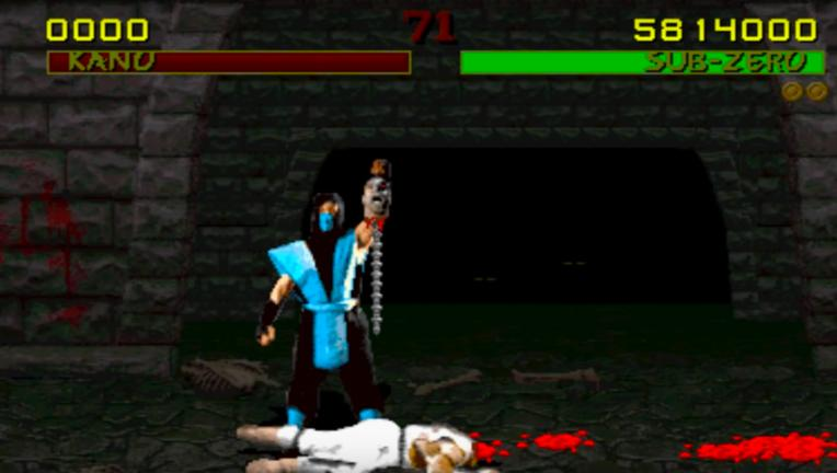 Mortal Kombat Sub Zero fatality