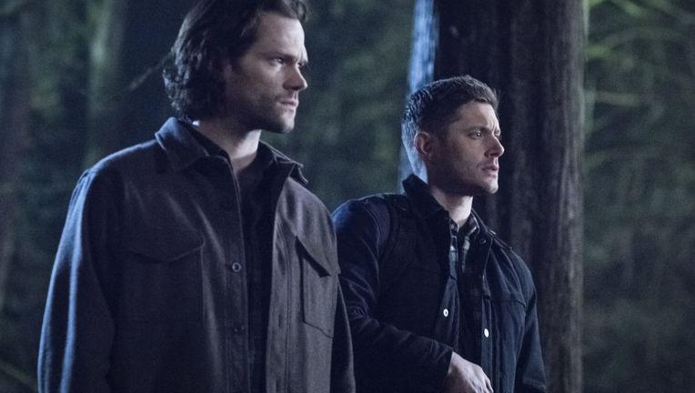 Jared Padalecki and Jensen Ackles in Supernatural