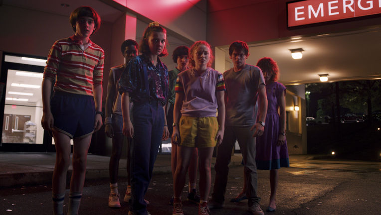Stranger Things 3 group shot