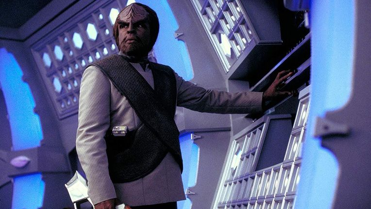 Worf in Star Trek: Insurrection