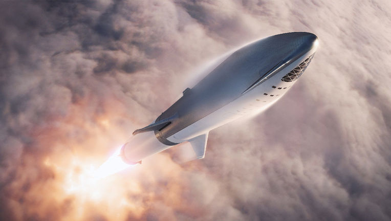 SpaceX Starship artist's rendering